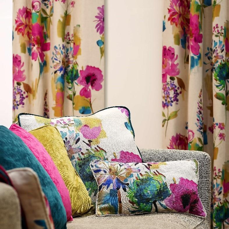 Think Pink With Custom Curtains Custom Curtains Blog