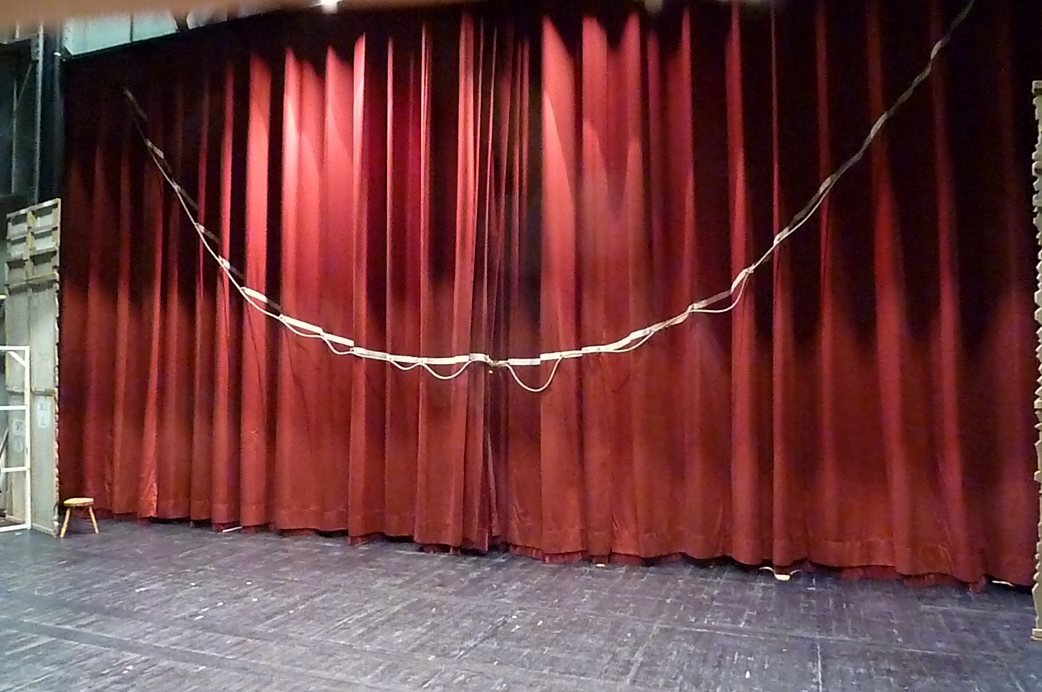 Front Elevation Theatre Definition : Ring down the curtain custom curtains